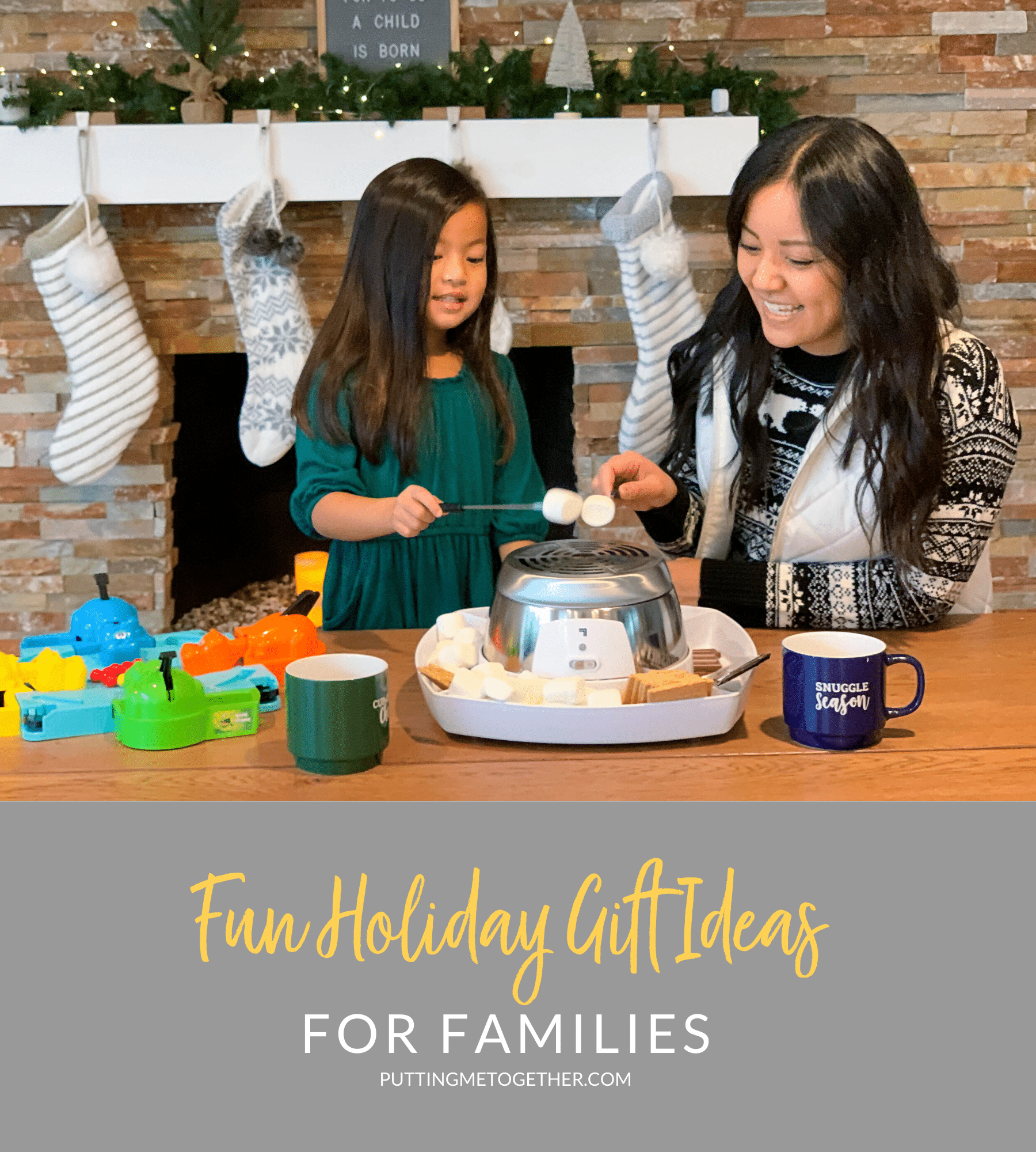 Family Gift Ideas and Holiday Outfits for Moms