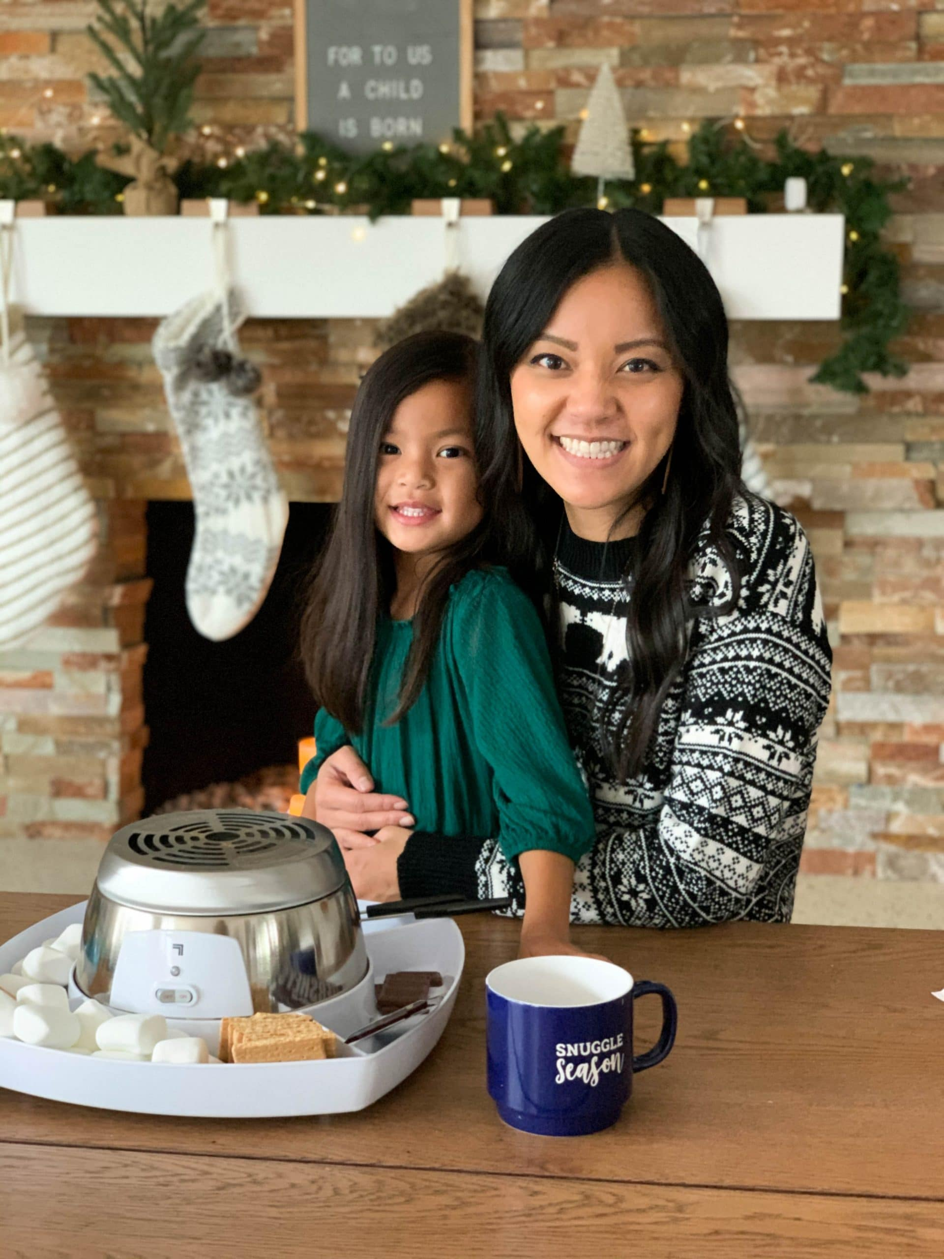 S'mores Maker Fair Isle Sweater Holiday Gifts For the Family