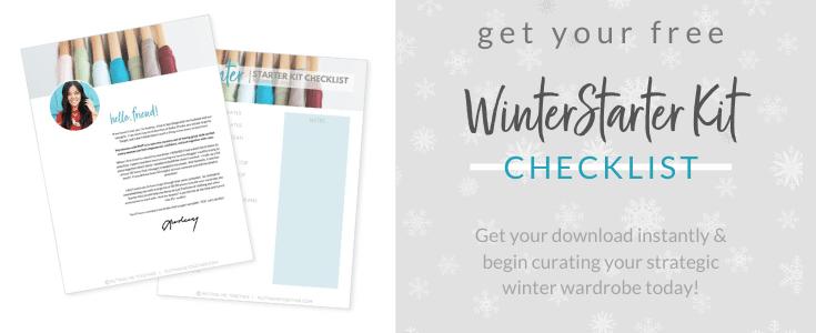 Free Winter SK Checklist Capsule Wardrobe