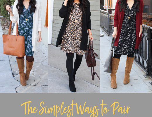 How to Pair Tights With Boots