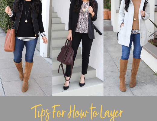 Tips for How to Layer Without Feeling Bulky In the Winter