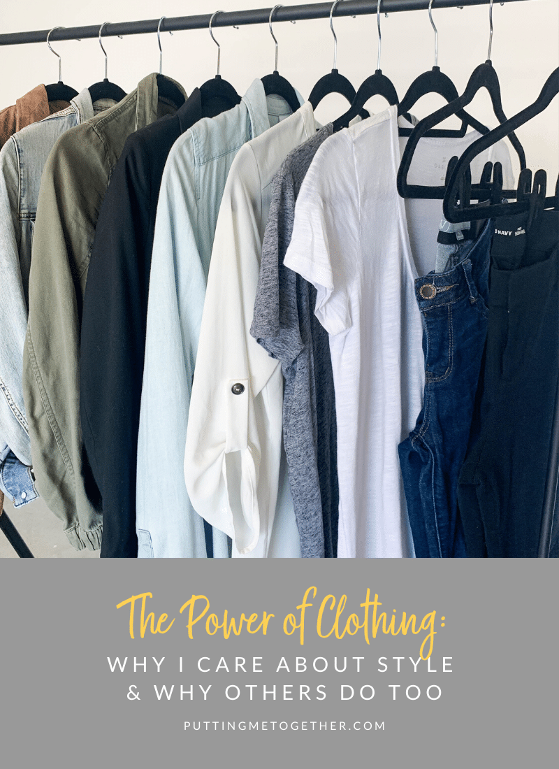 The Power of Clothes: Why I Care About Style