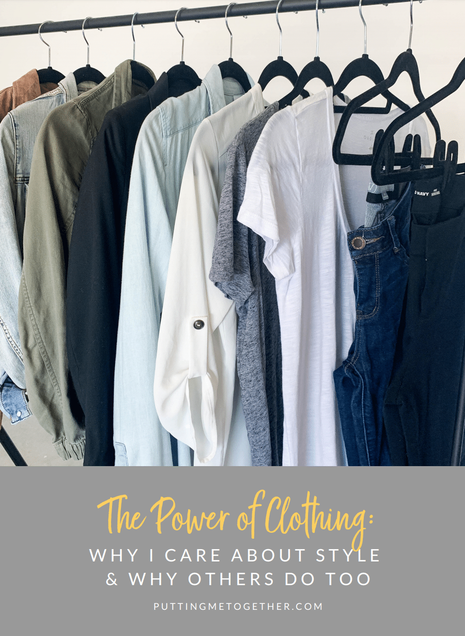 The power of clothing: Why I care about style