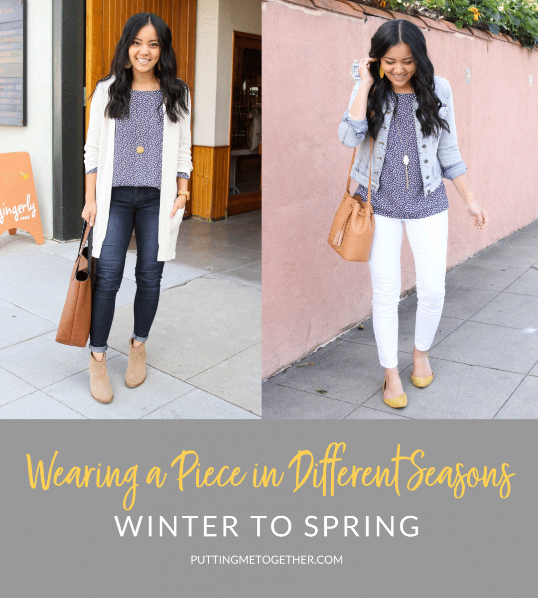 How to Wear Clothes in Different Seasons