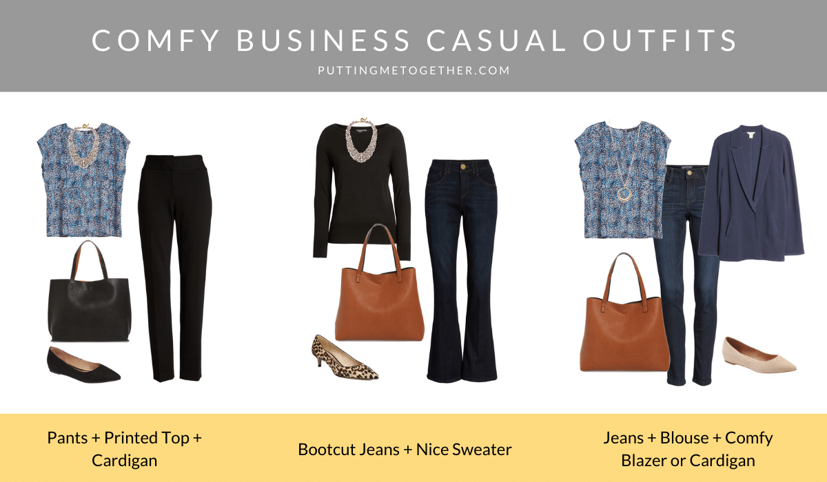 Comfy Business Casual Outfits