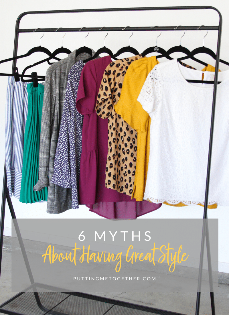 6 Myths about Having Great Style