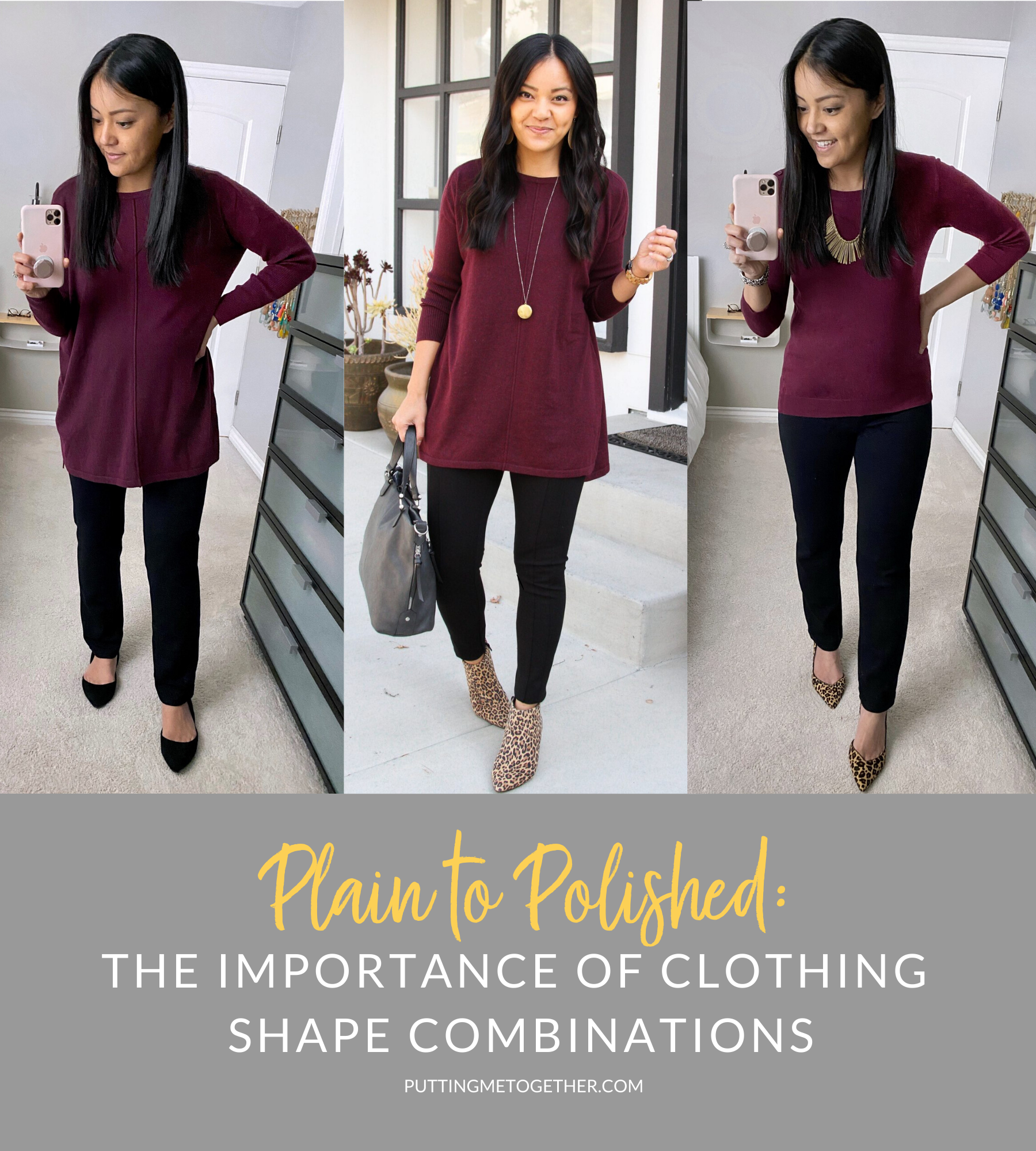 Plain to Polished: The Importance of Clothing Shape Combos