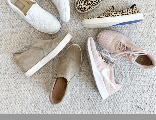 My Four Favorite Go-To Styles of Sneakers for Spring