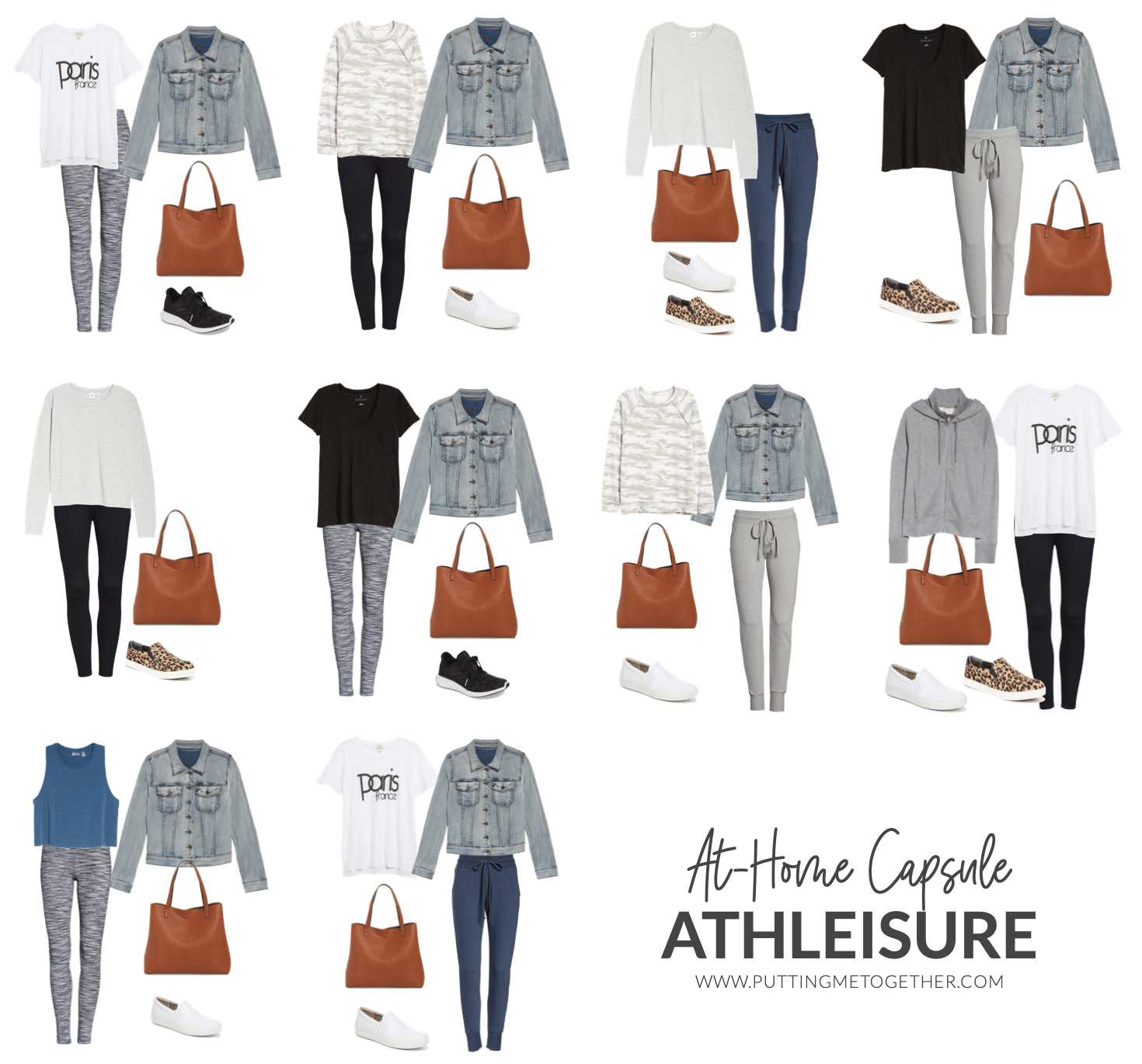 At-Home Capsule Wardrobe: Athleisure