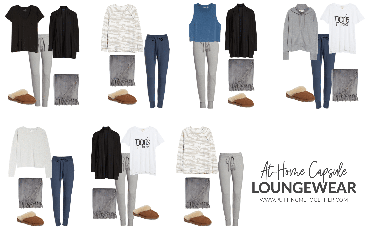 At-Home Capsule Wardrobe: Loungewear