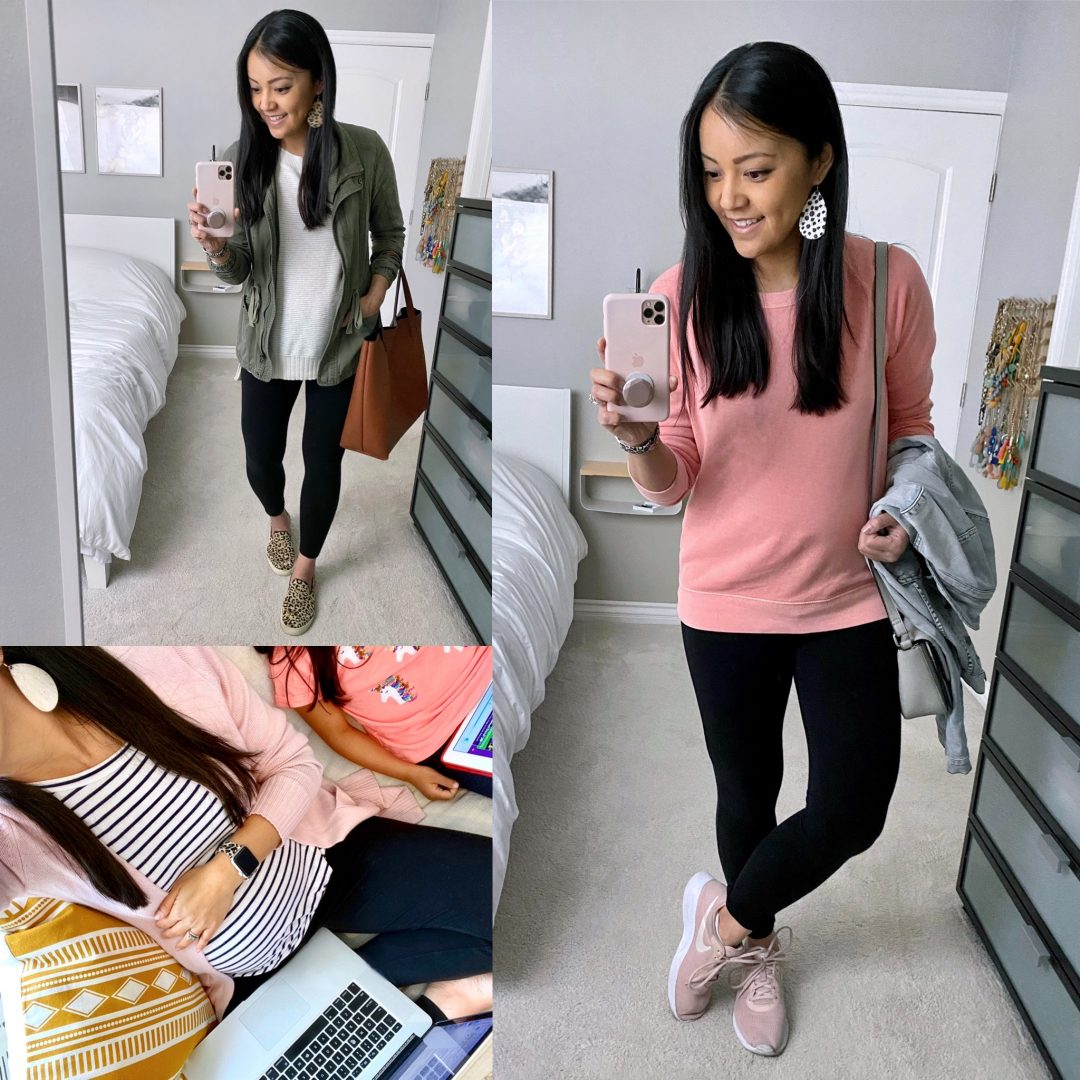Outfits With Leggings to Wear at Home and Out