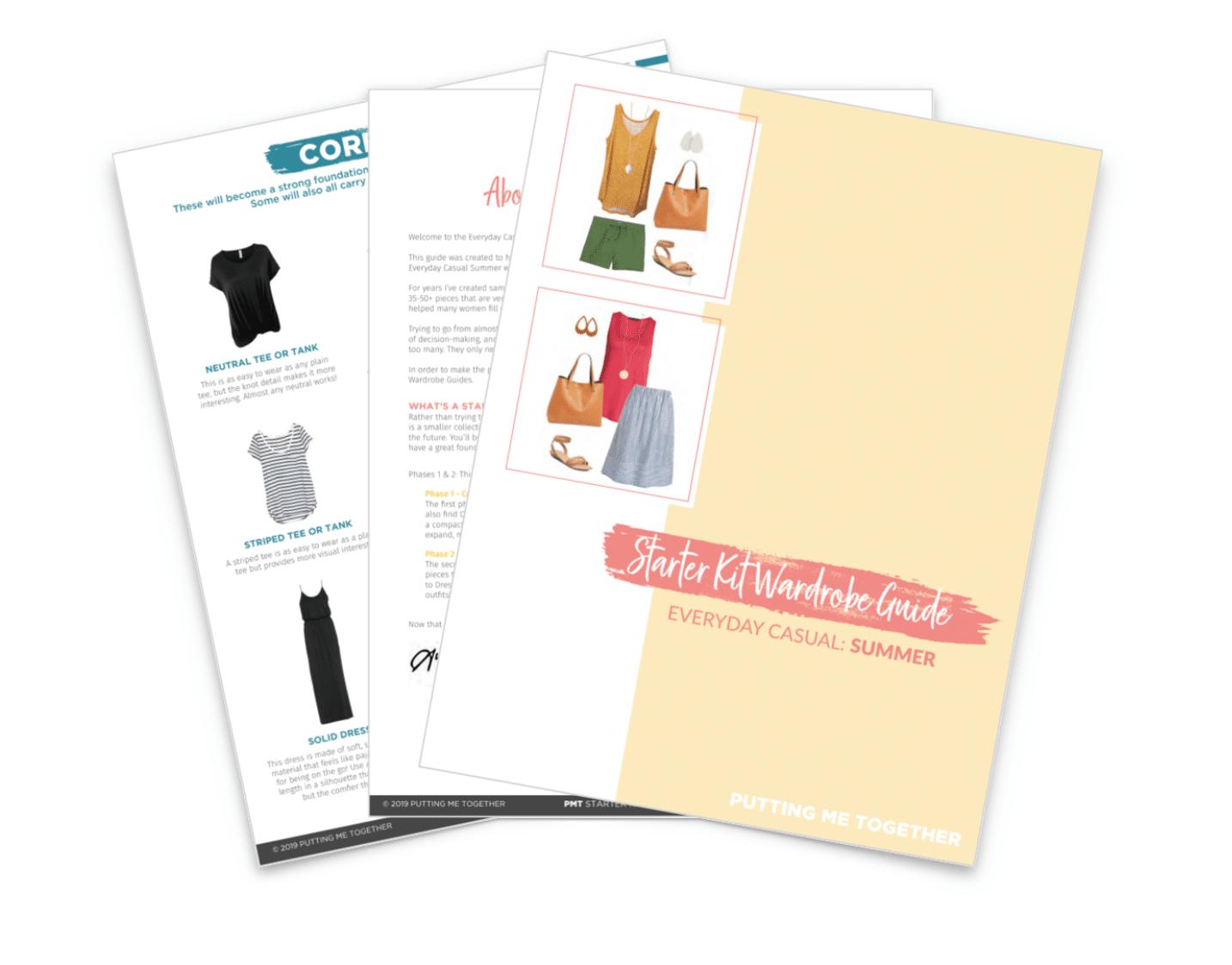 Summer Starter Kit Wardrobe Guide