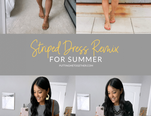 Striped Dress Remix For Summer