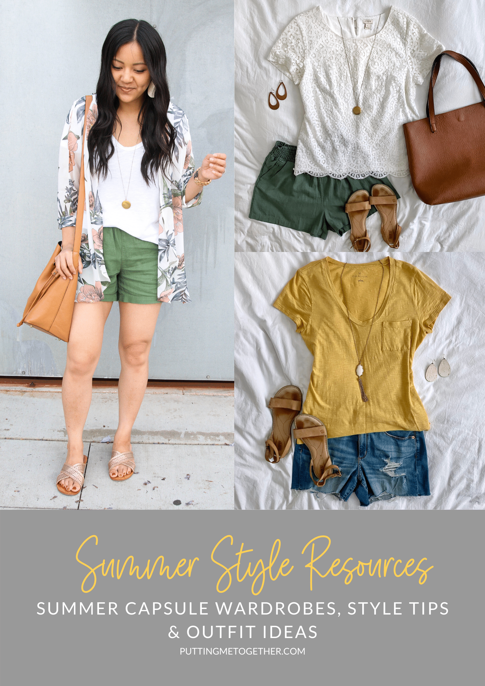 Summer Style Resources, Summer Capsule Wardrobes, Style Tips and Outfit Ideas