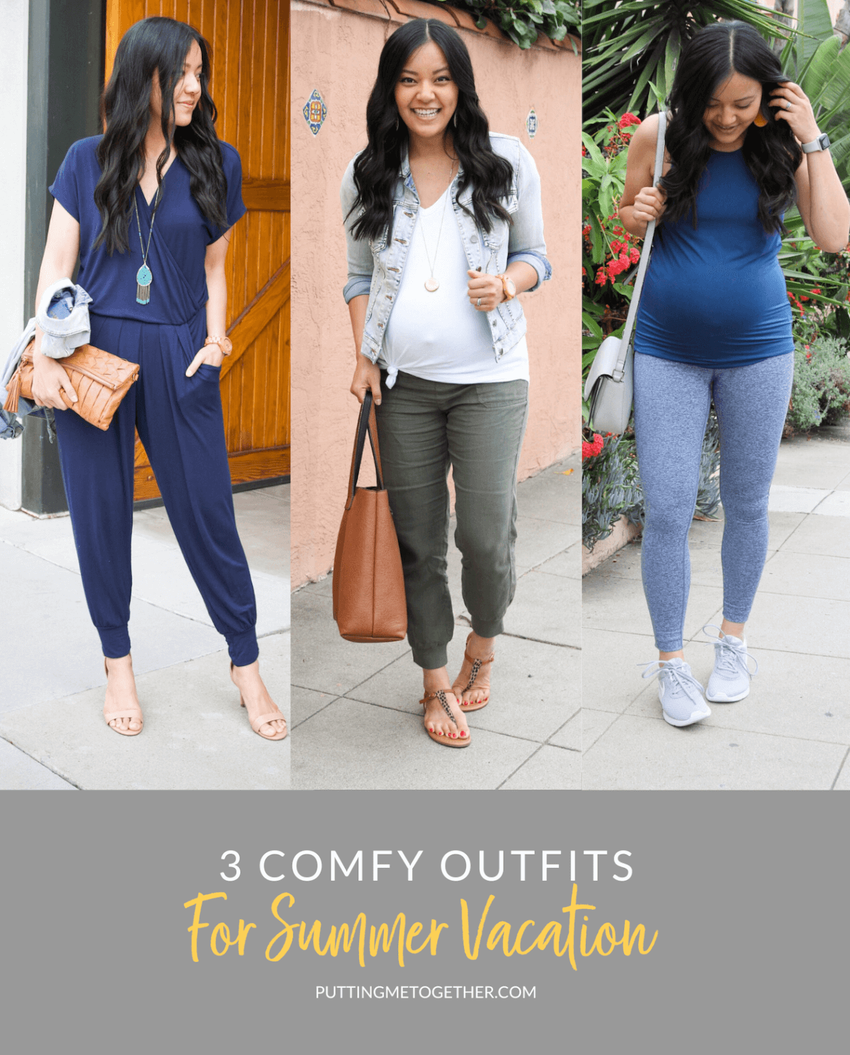 3 Comfy Outfits for Summer Vacation