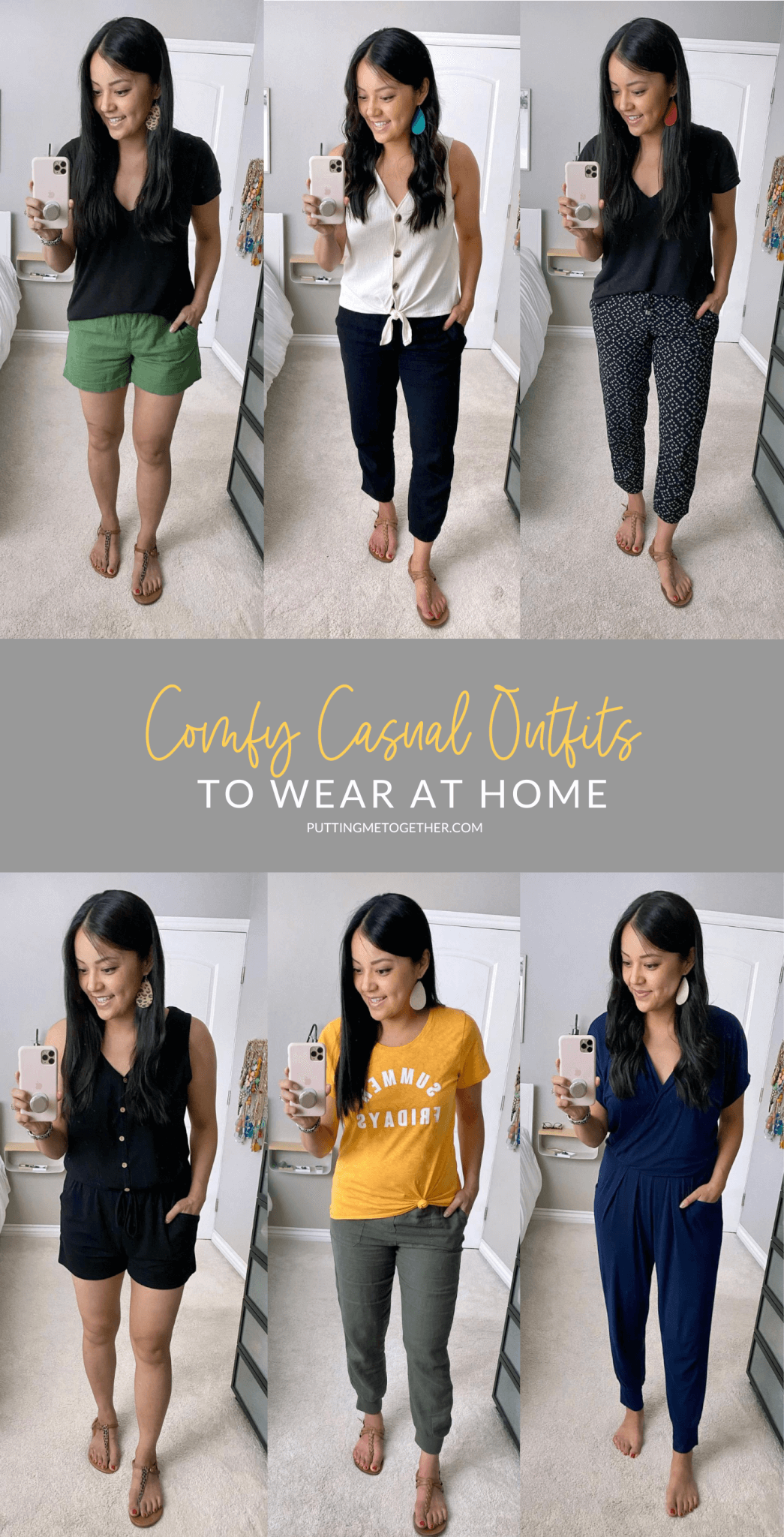 Comfy Casual Outfits While At Home