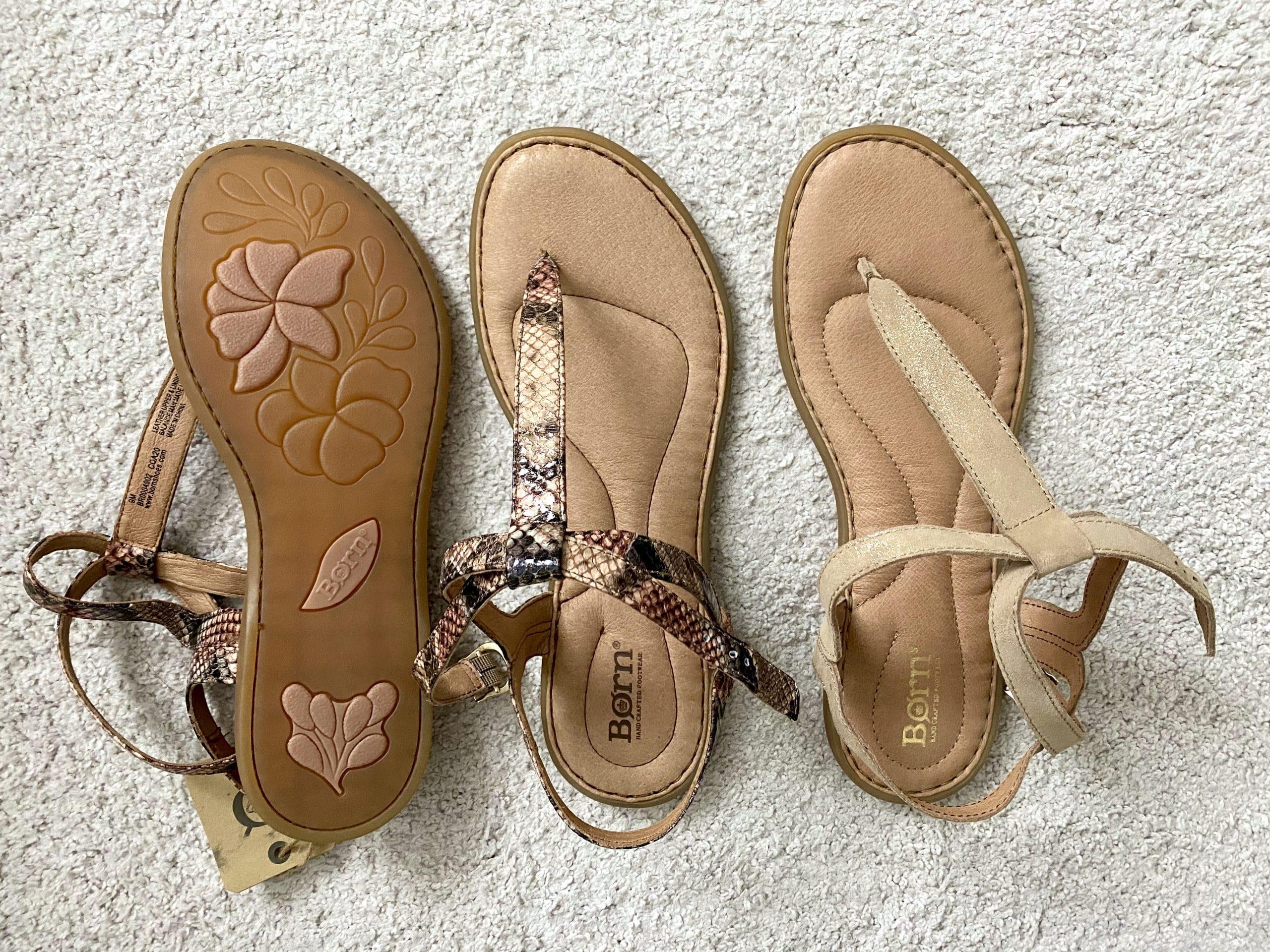 Born T-Strap Sandals