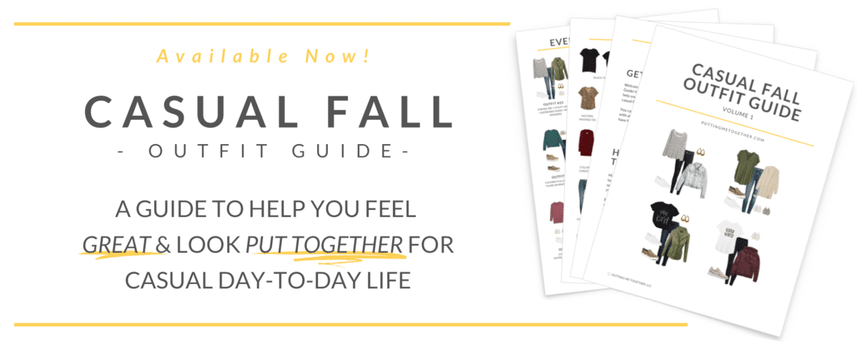 Casual Fall Outfit Guide for At-Home Life