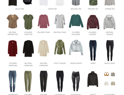 Casual Fall Capsule Wardrobe for Stay at Home Life & Weekends