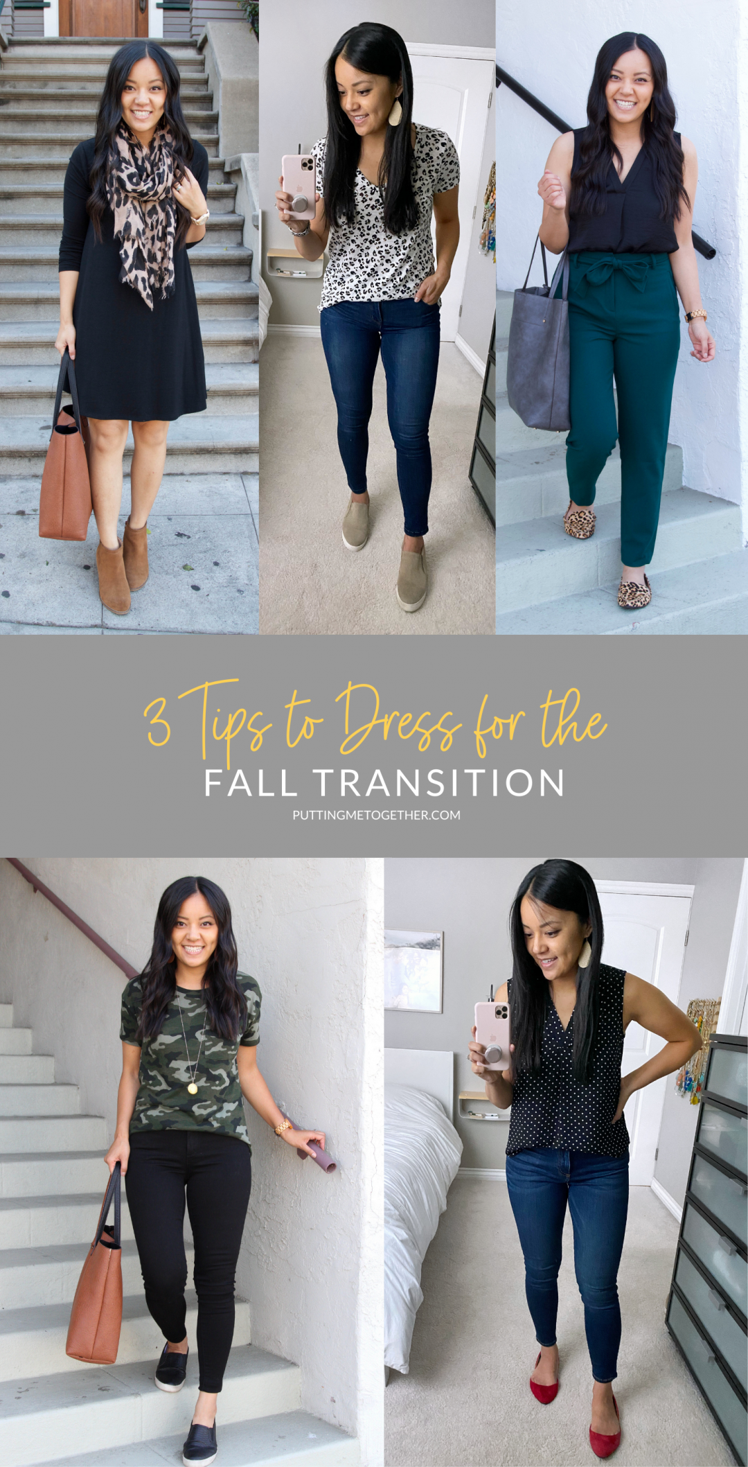 Outfits for the Transition to Fall