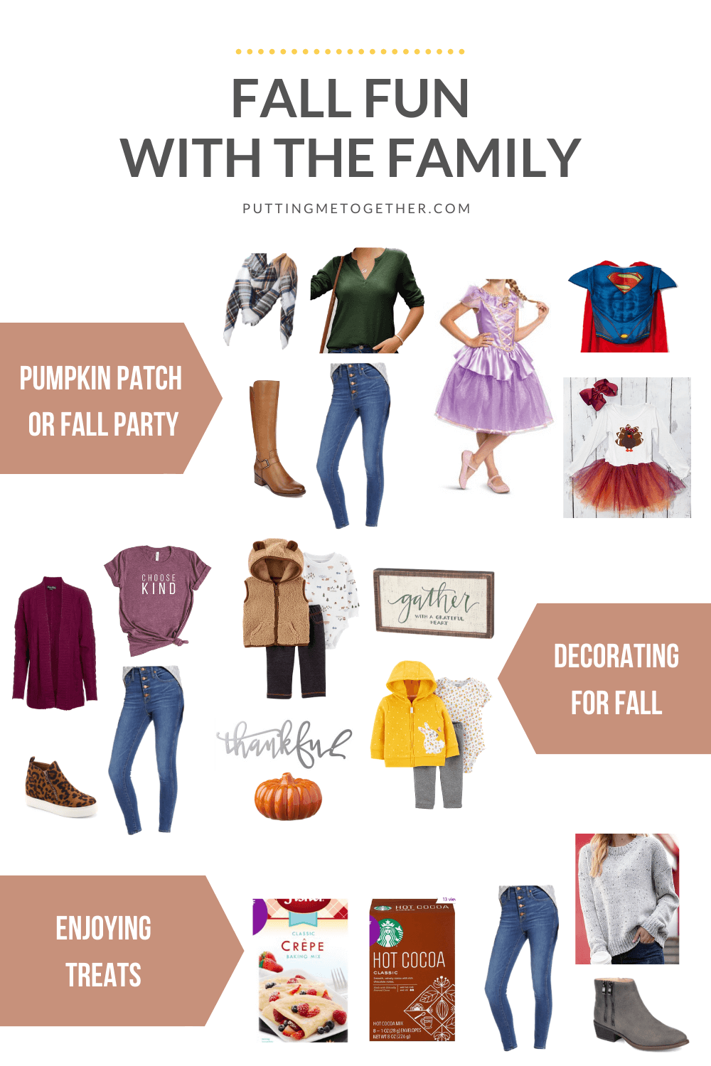 Casual Outfits for Fall Fun With the Family