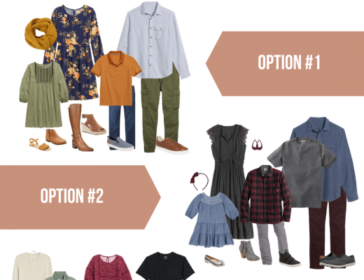 Outfit Ideas for Family Photos