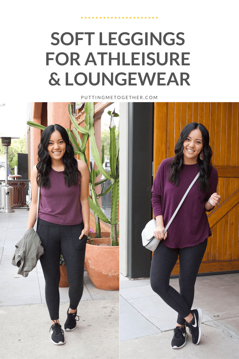 Soft Leggings for Athleisure and Loungewear