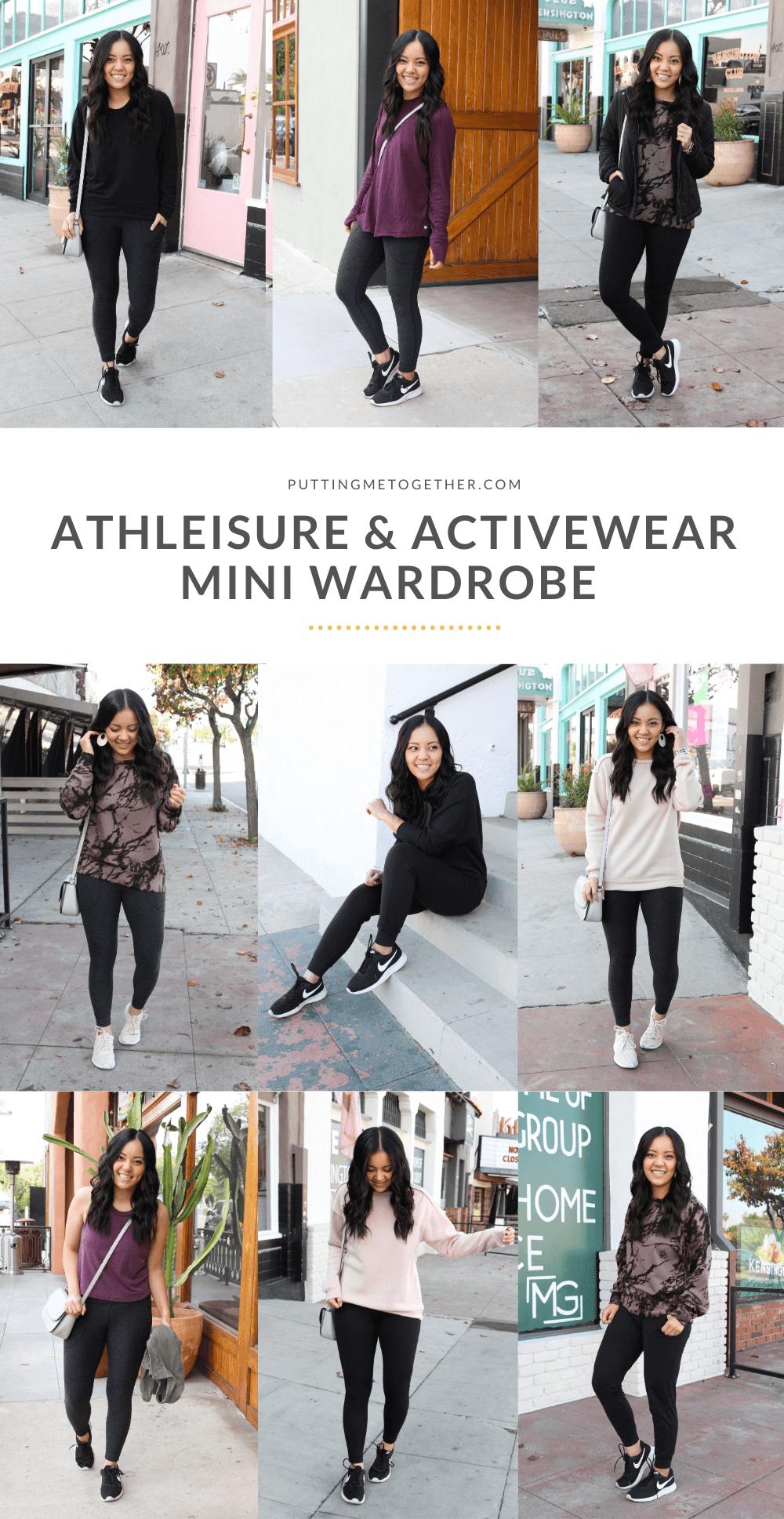 Athleisure & Activewear Mini Wardrobe