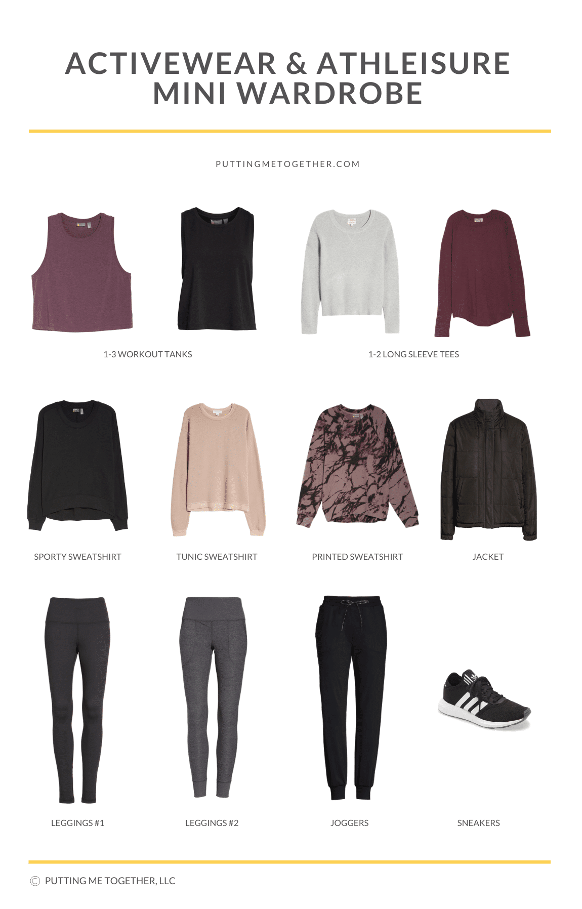 Activewear & Athleisure Capsule Wardrobe