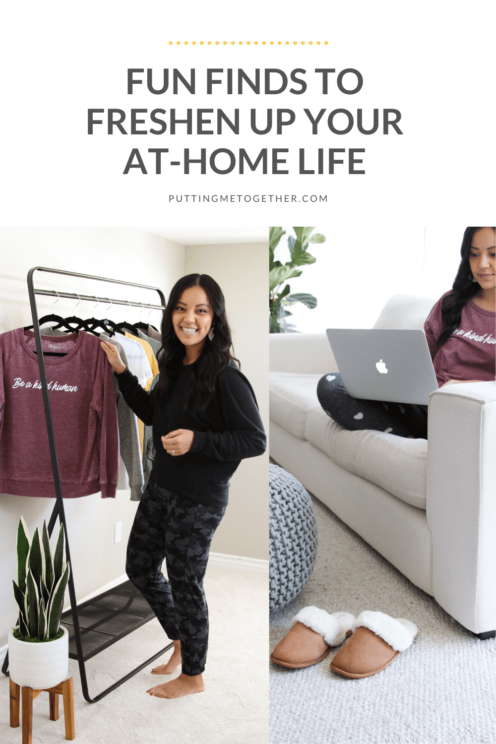 Mix It Up at Home with Affordable Loungewear and Home Decor