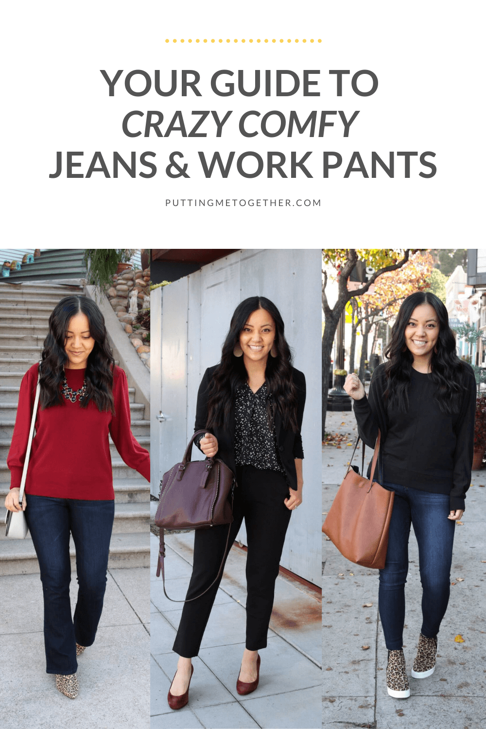 Your Guide To Crazy Comfy Jeans and Work Pants