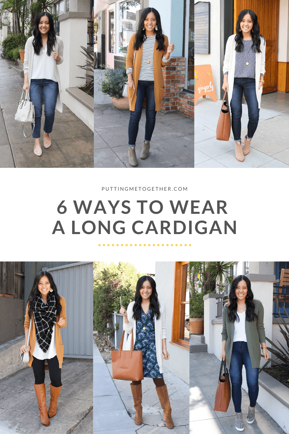 outfits with long cardigan sweater