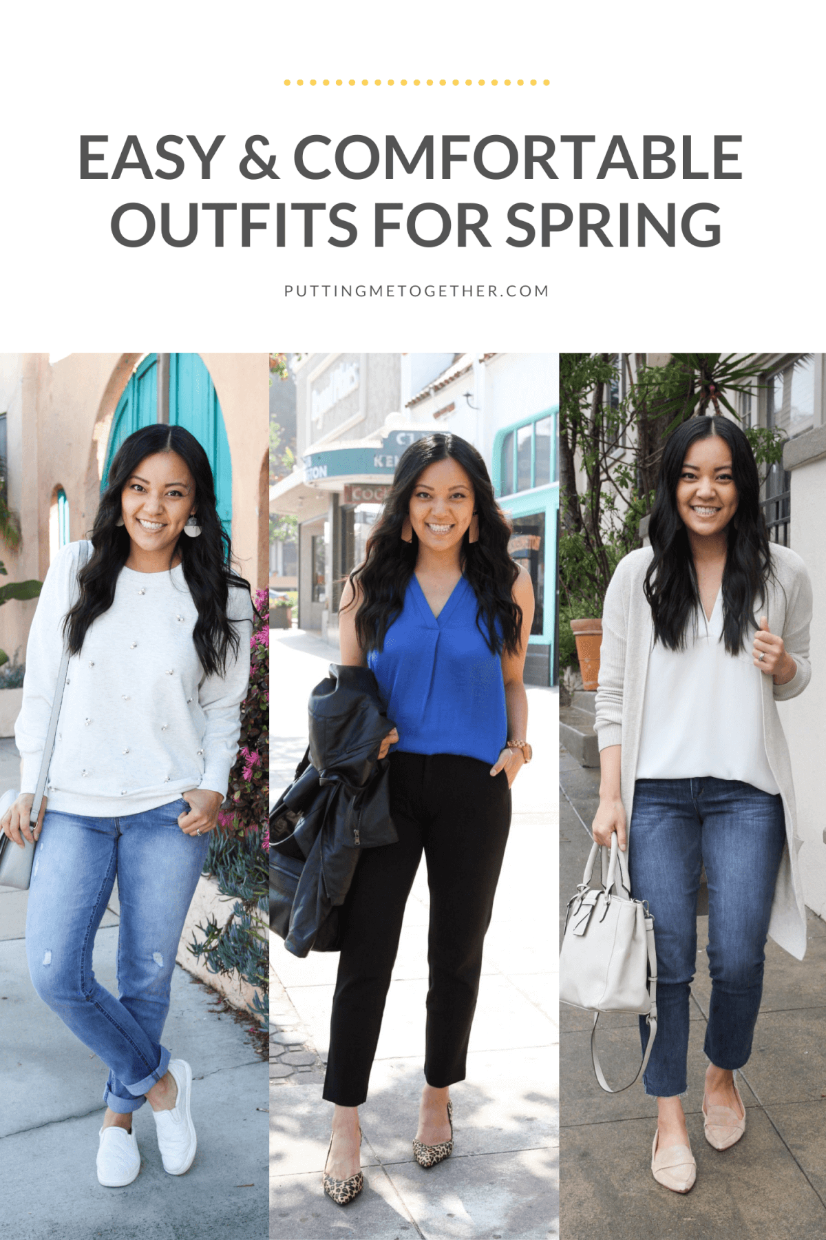 Easy & Comfortable Outfits for Spring