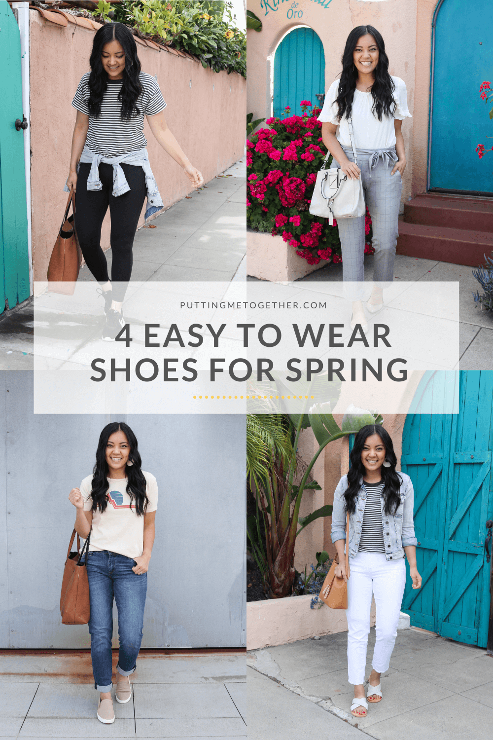 4 shoes to wear for spring