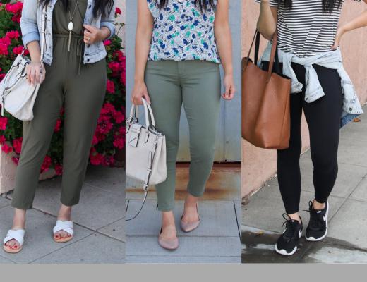 fresh comfy spring outfits for athleisure, lunch dates, and work