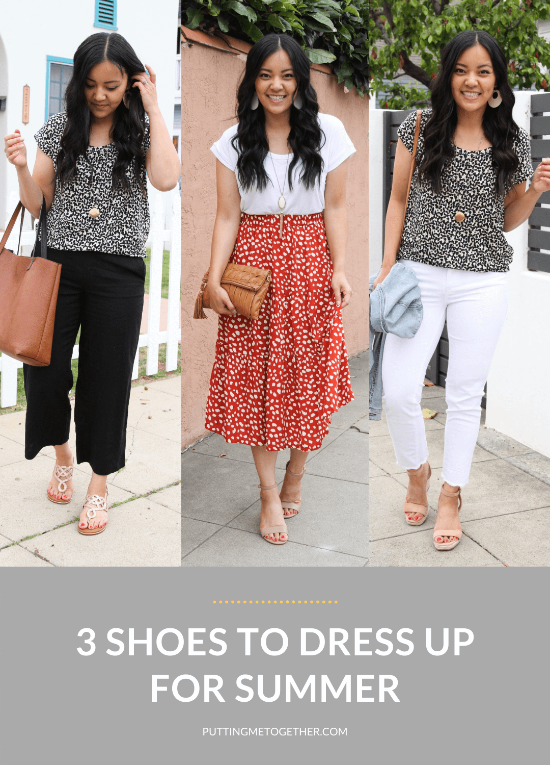 3 Shoes to Dress Up For Summer