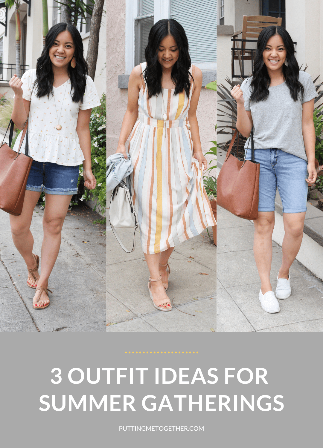 3 Outfit Ideas for Summer Gatherings