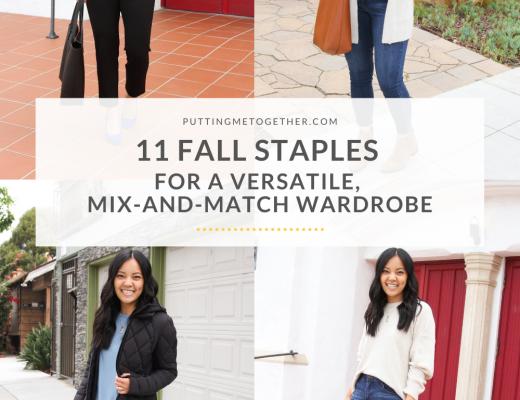 11 fall staples for versatile wardrobe