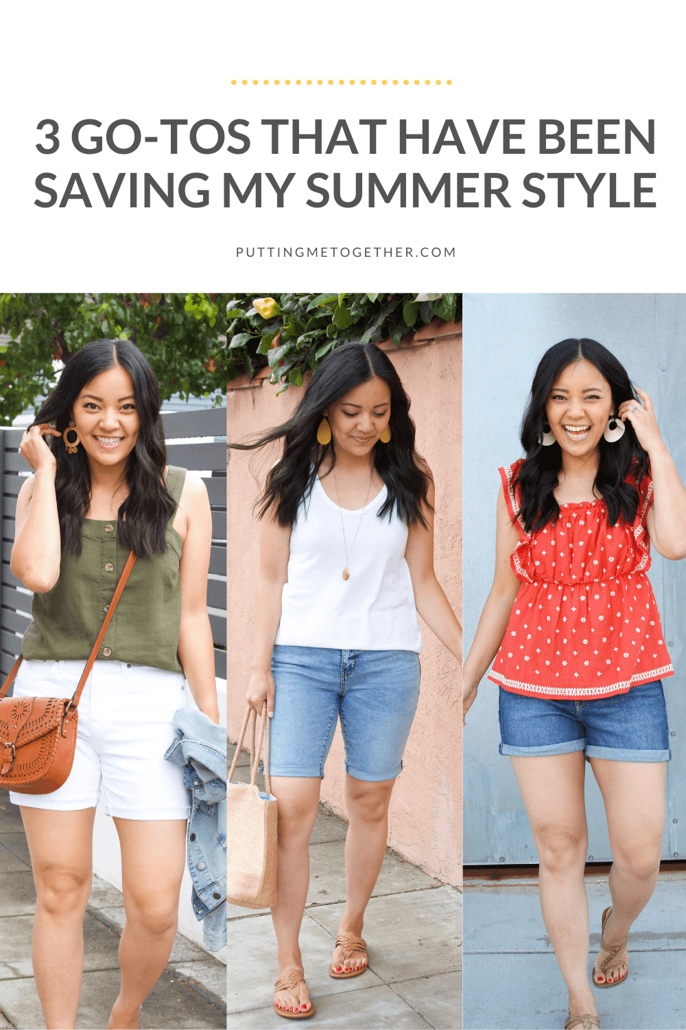 3 Go-Tos for Summer Style