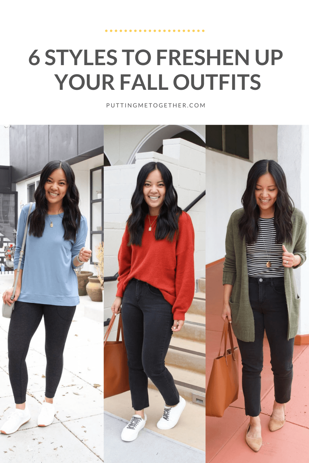 6 styles to freshen up your outfits in the fall