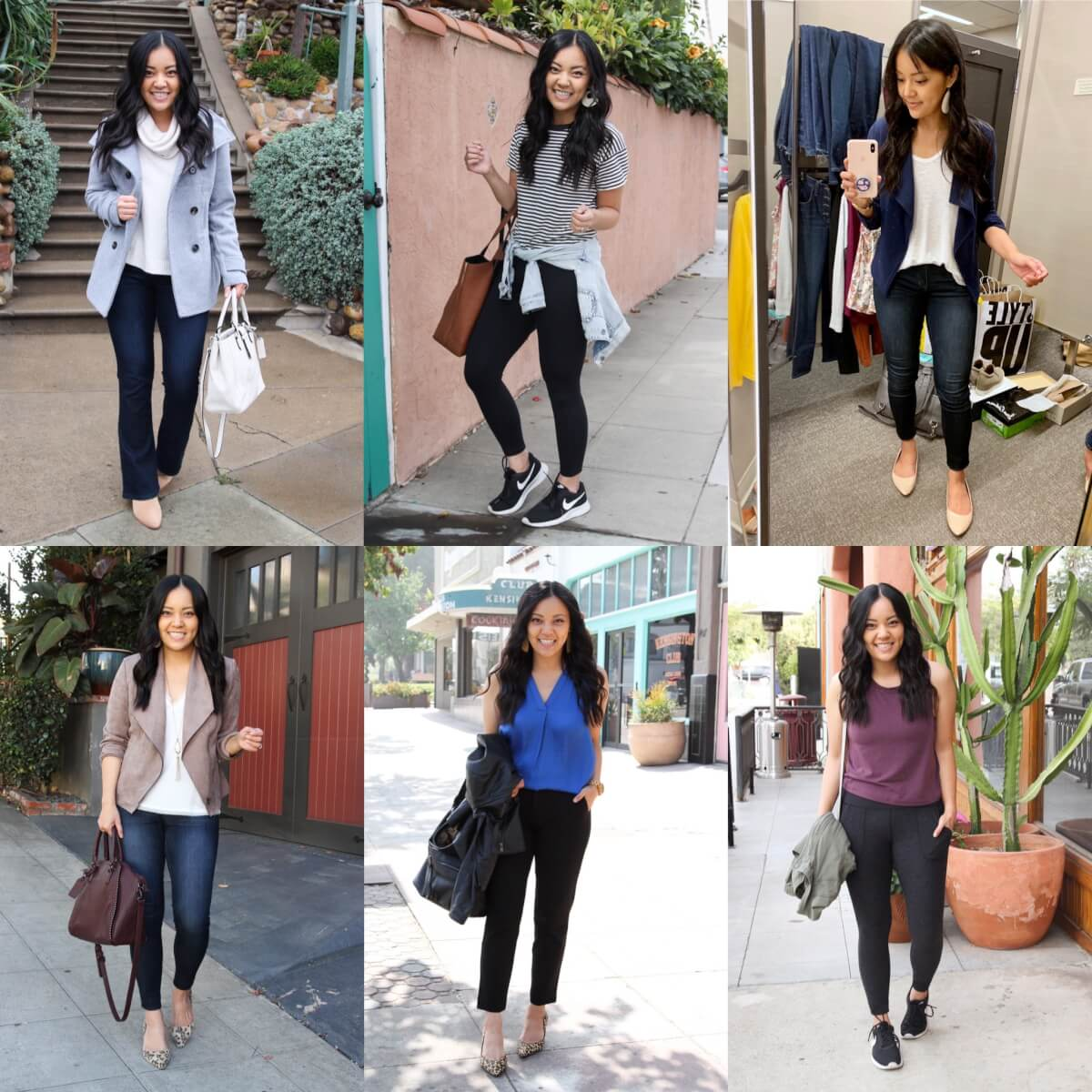 Nordstrom Anniversary Sale Tried and True Favorites: sweaters, leggings, blazers, blouses, sneakers