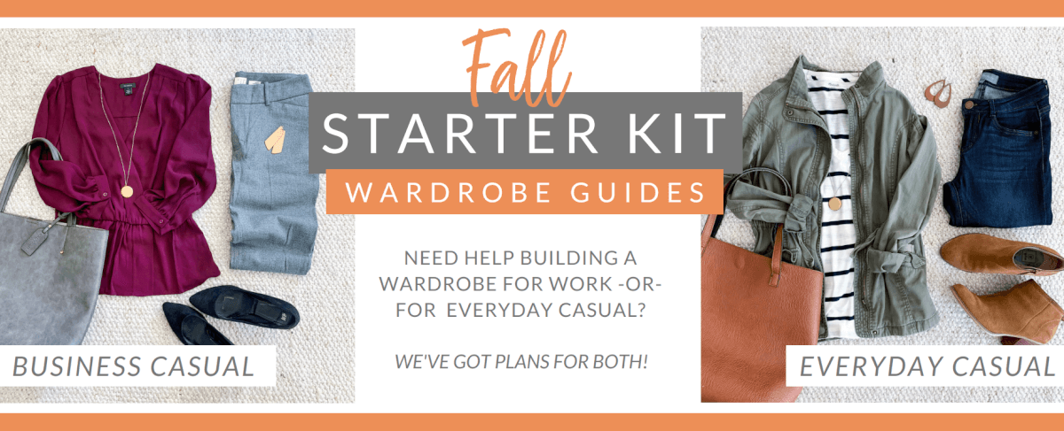 Fall Starter Kit Wardrobe Guide Putting Me Together