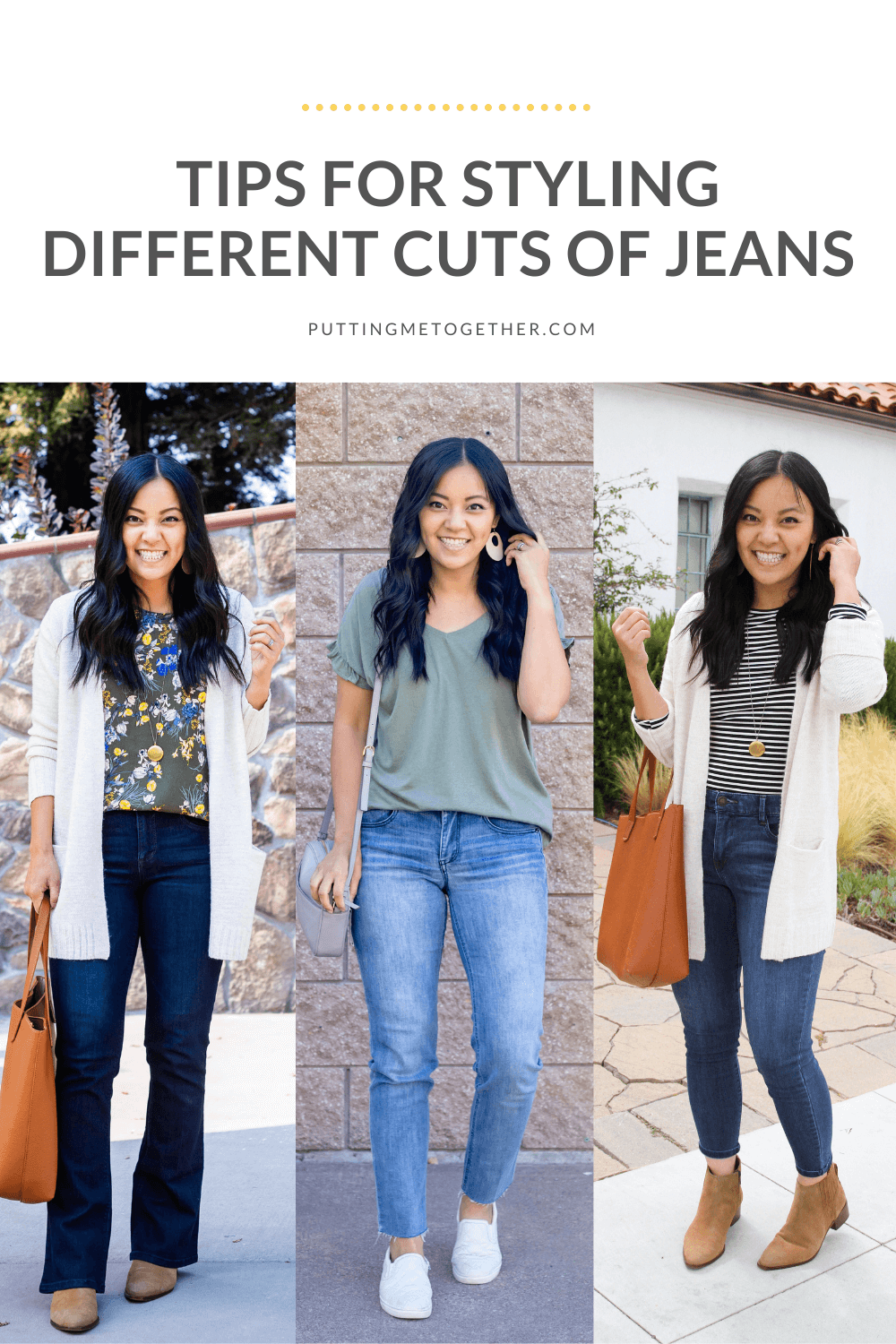 Tips to Style Different Cuts of Jeans