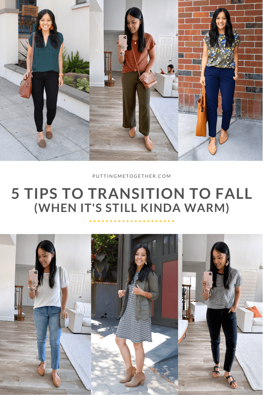 5 Tips to Transition from Summer to Fall Style