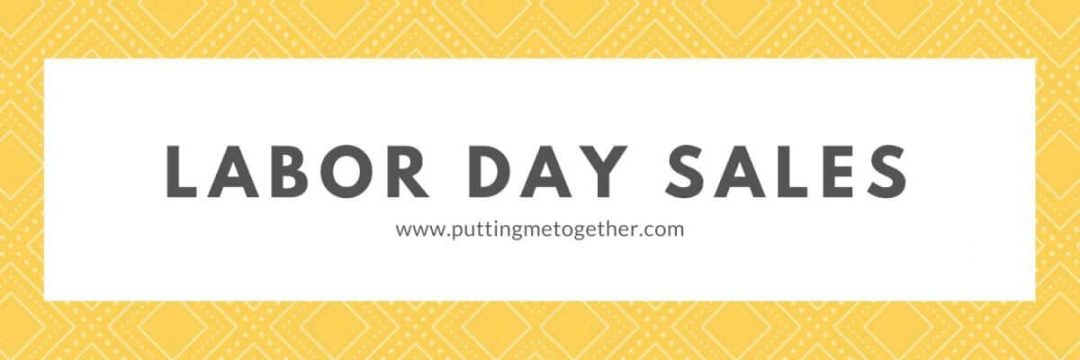 Labor Day Sales Putting Me Together