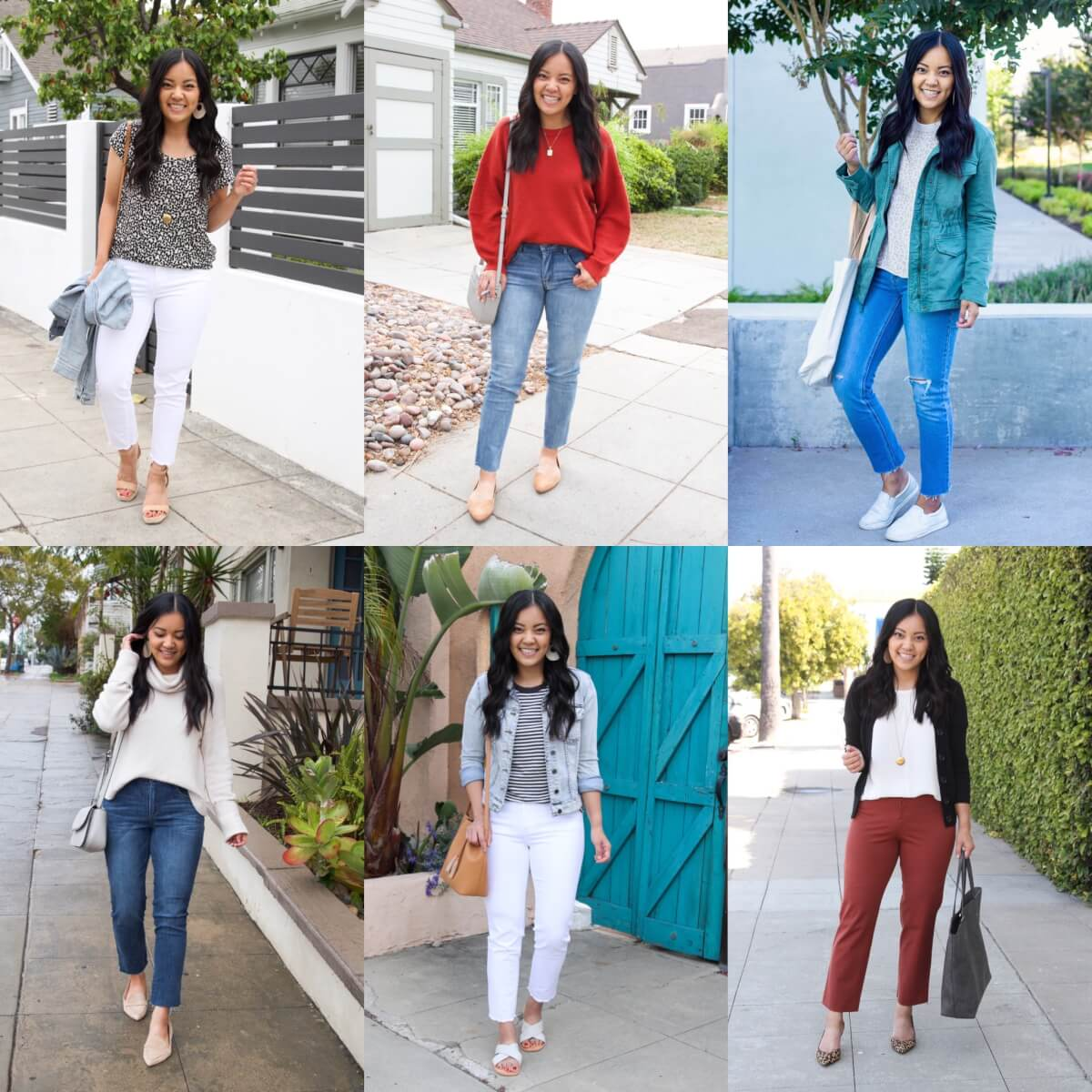 Shoes to wear with straight leg jeans: heels, flats, low profile sneakers