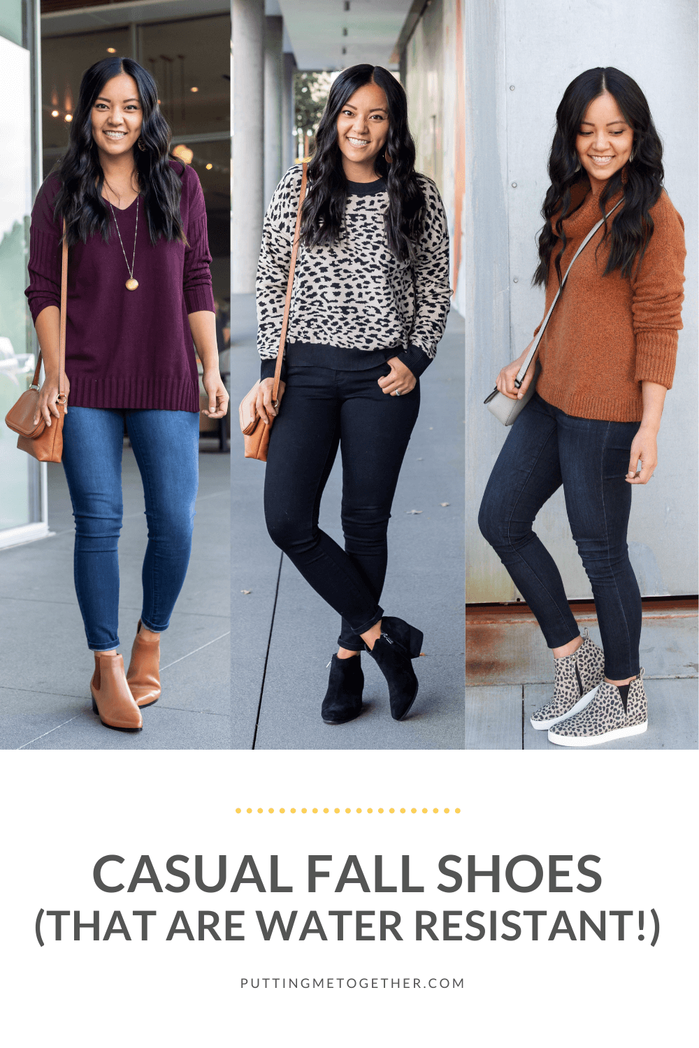 Casual Fall Shoes Water Resistant